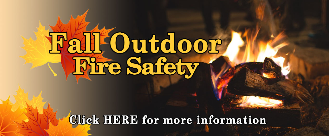 Fall Outdoor Fire Safety