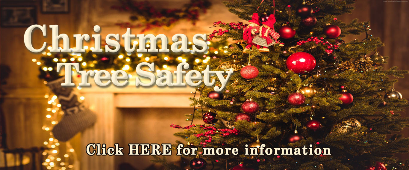 Christmas Tree Safety Banner